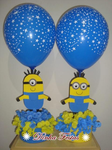 Balões de Festa personalizados com estrelinhas