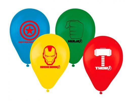 Balões de Festa personalizados com desenho de super heróis