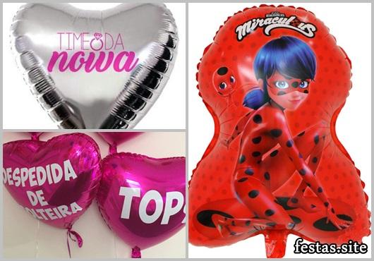 Balões Metalizados da Ladybug