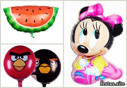 Balões Metalizados da Minnie baby