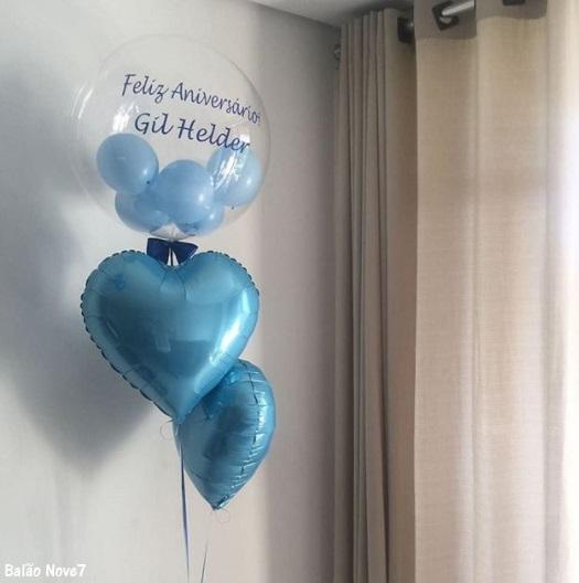 balão aniversário masculino