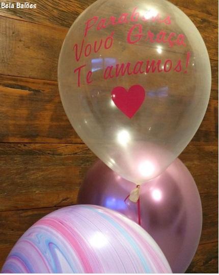 balão simples