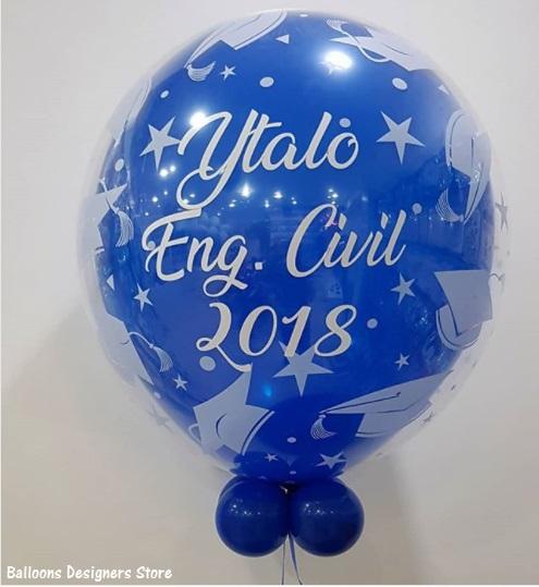 balão formando