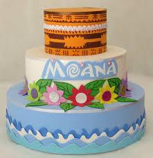 bolo fake Moana feito com eva