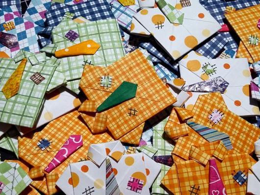 Convite Festa Junina com formato de camisa xadrez
