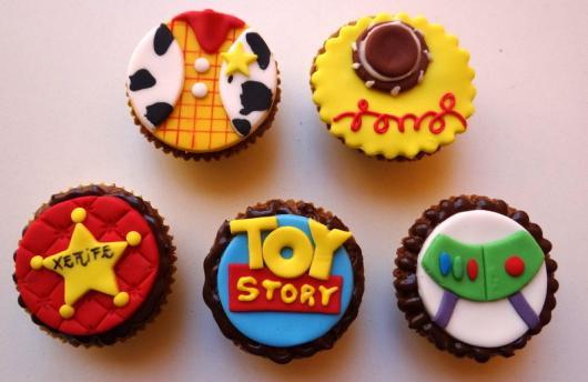 Cupcake decorado Toy Story