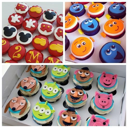Cupcake do Mickey, Procurando Nemo e Toy Story