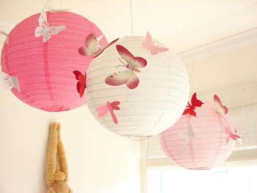 Decoração Dia das Mães com balões estilo japones