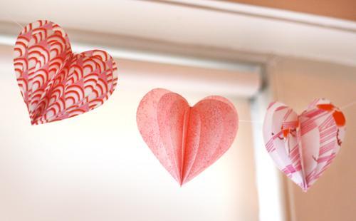 Decoração Dia das Mães com coração depael