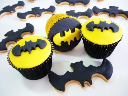 Doces Personalizados Batman cupcake