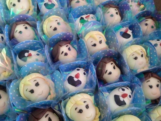 Doces Personalizados Frozen bombom