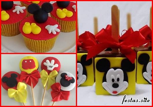 Doces Personalizados Mickey