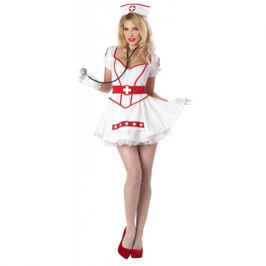 32b7cf841 Fantasia de Enfermeira – 50 Inspirações Lindas e Sensuais para Festas!