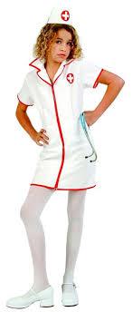 Fantasia de Enfermeira Infantil branca e vermelha