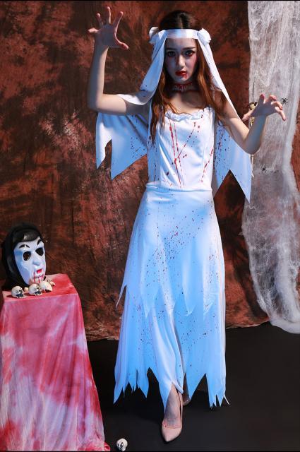 Fantasia Noiva Cadáver improvisada