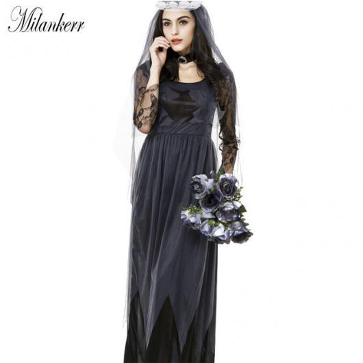 Fantasia Noiva Cadáver preta