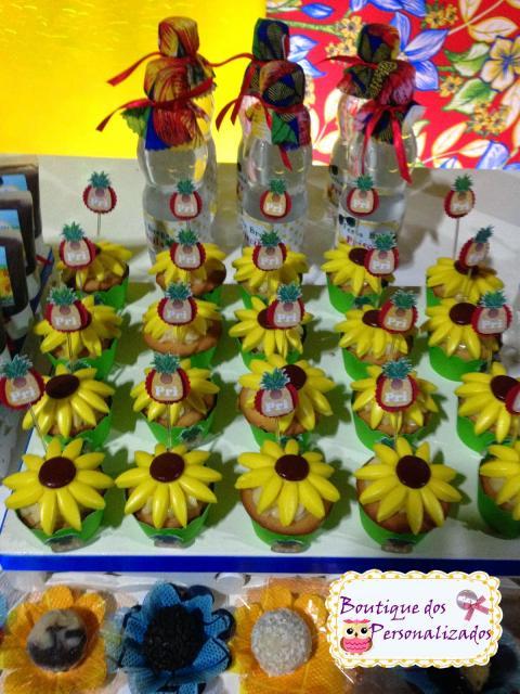 Festa Brega lembrancinha doces personalizados