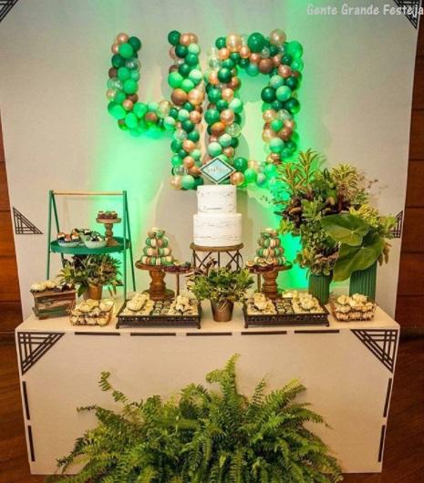 decoração festa 40 anos