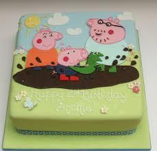 modelo de bolo festa George Pig