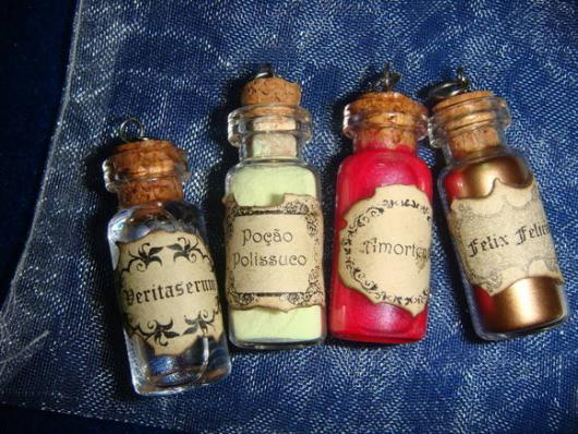lembrancinha harry potter poçoes magicas