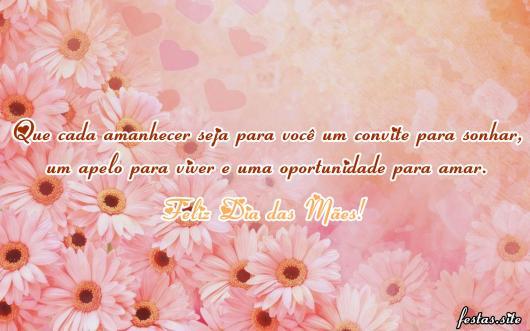 Mensagem Dia das Mães especial