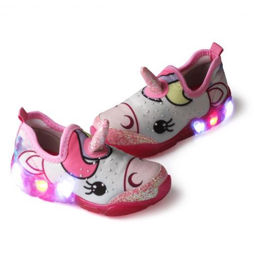 Presentes de Unicórnio tênis com LED