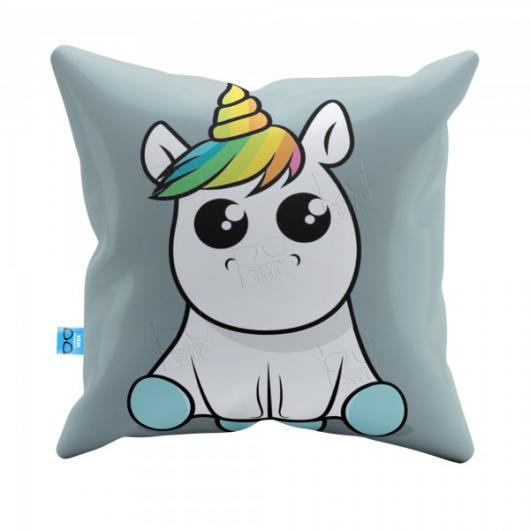 Presentes de Unicórnio almofada personalizada com unicórnio baby