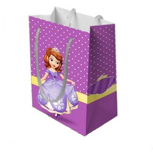 Sacolinha Surpresa de papel da Princesa Sofia