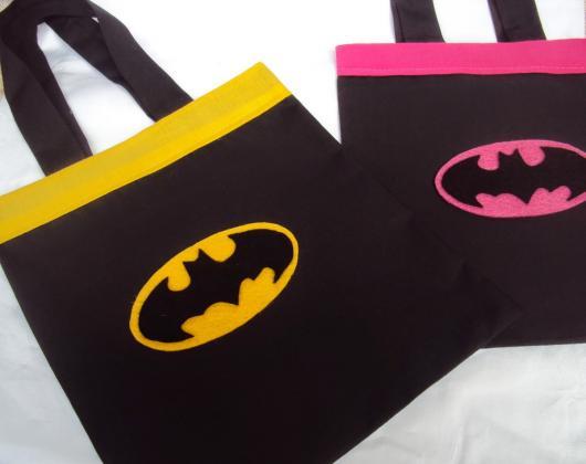 Sacolinha Surpresa Batman de tecido