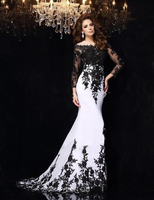 0edfc75bf Vestido de Noiva Preto: Significado & 70 Modelos Impressionantes