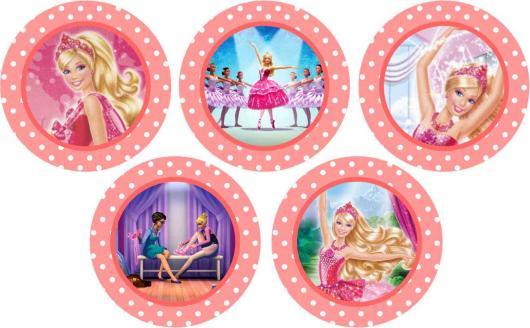 adesivos para lembrancinhas da barbie