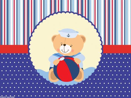 adesivos para lembrancinhas urso marinheiro