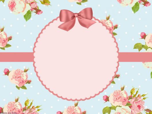 adesivos para lembrancinhas estampa floral