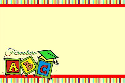adesivos para lembrancinhas formatura ABC