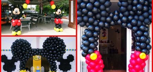 Arco de balões inspirações