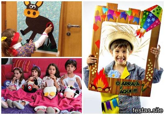 Brincadeiras para festa infantil
