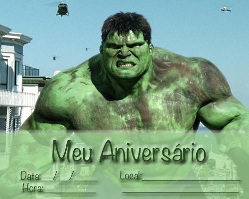 Convite Do Hulk 30 Ideias Fantasticas E Inspiradoras Para Sua Festa
