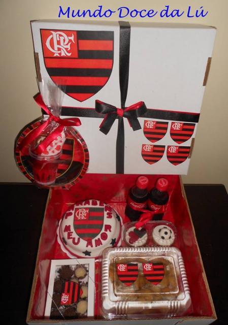 Festa do Flamengo na caixa