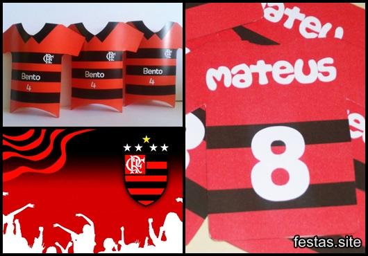 Festa do Flamengo convites inspirações