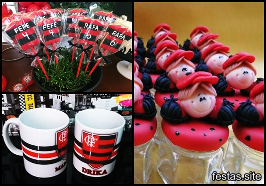 Festa do Flamengo lembrancinhas