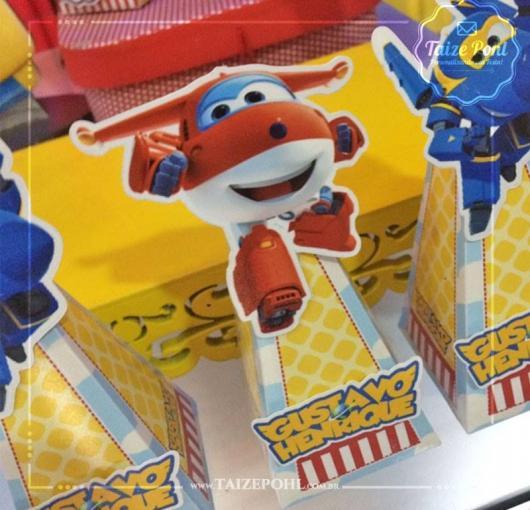 Festa Super Wings kit festa montado