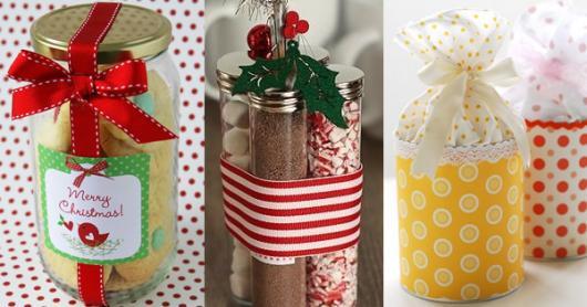 Lembrancinhas baratas para Natal potinhos de tempero
