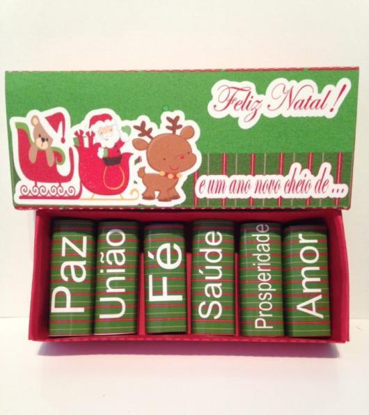 Lembrancinhas baratas para Natal bis personalizado