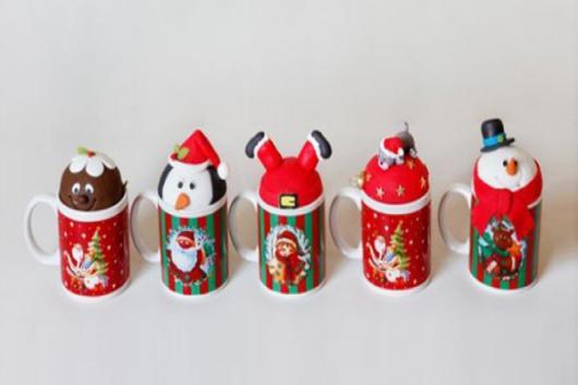 Lembrancinhas baratas para Natal caneca personalizada
