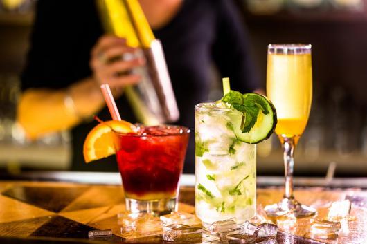 Receitas de Drinks para festa vermelho