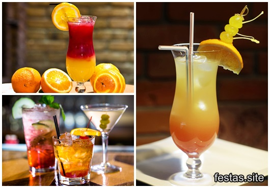 Receitas de Drinks para festa inspirações
