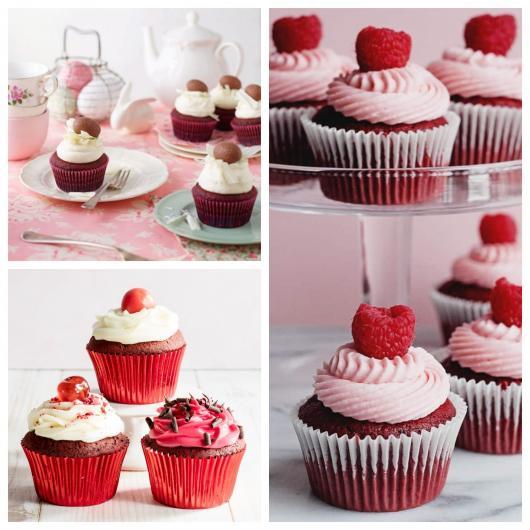 Cupcake red velvet incrível
