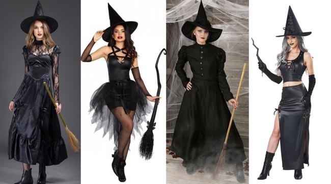 Como fazer fantasia de bruxa barata e improvisada de última hora passo a passo