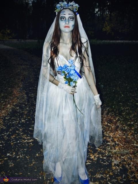 fantasia noiva cadáver pele pálida