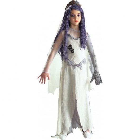 fantasia noiva cadáver para halloween